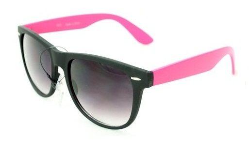 Slnečné okuliare WAYFARER - čierny rám + ružové boky 70238ae5d57