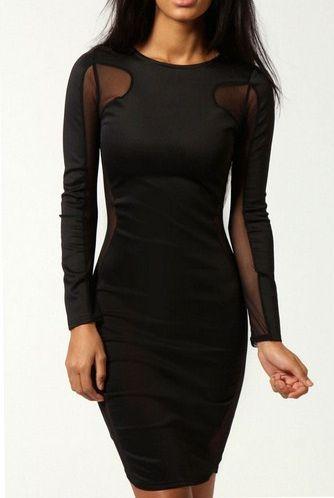 Čierne šaty Visible  bb7c01e869