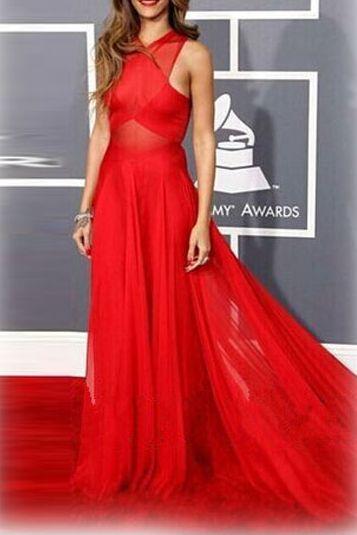 fdcd8edc6d64 Dámske dlhé šaty - červené
