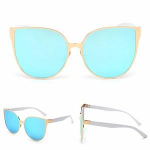Dámske slnečné okuliare Elegance zlatý rám modré sklá empty a3ce0a5beb1