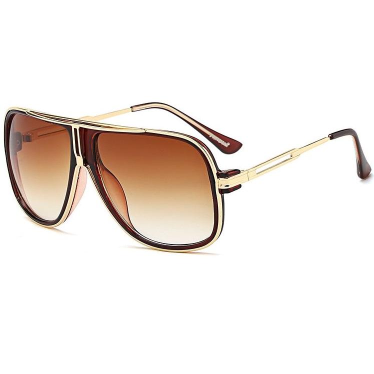 Pánske slnečné okuliare Gomez hnedé 98373d92b87