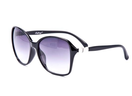 bf567afcc Slnečné okuliare OVERSIZE - s mašličkou čierne