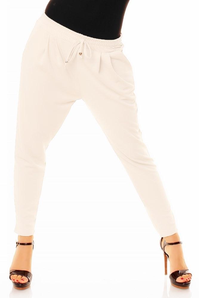 fb8986e5e7 Dámske trendy nohavice biele