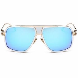 Slnečné okuliare Hawk biele modré sklá empty 0d64b165346