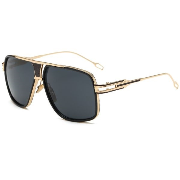 Slnečné okuliare Hawk čierne All Black 47f945adf38