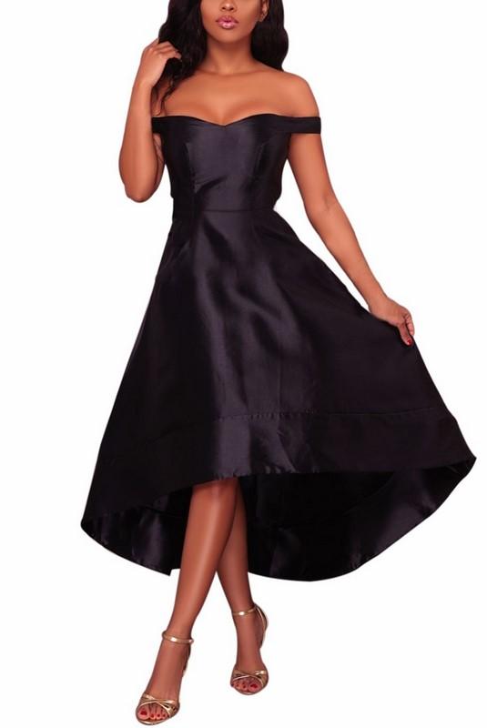 e19d01ce027f Dámske večerné šaty Simone - čierne