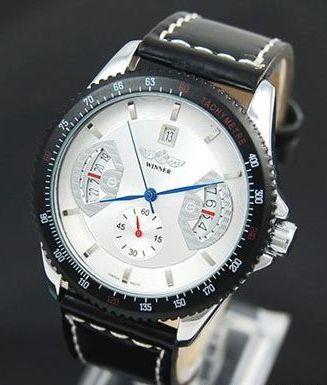 Pánske mechanické hodinky - F1 White 6e88841004d