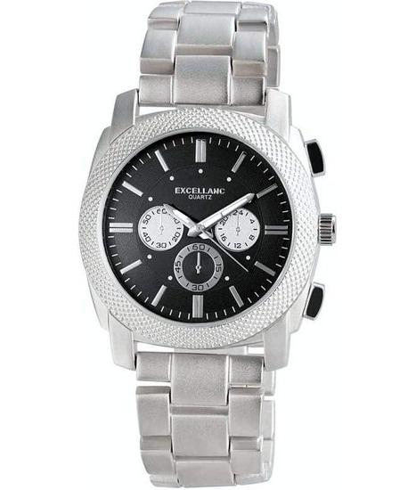 Pánske kovové hodinky Excellanc - Black be6a9097a6