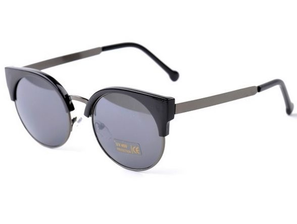 Dámske slnečné okuliare WAYFARER London - čierne 4ba3336e8da
