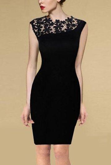 Dámske šaty - čierne 410251f4aeb