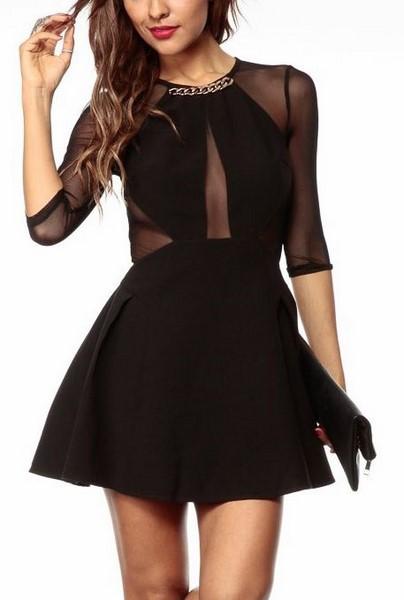 Dámske šaty - čierne cc1045049cd