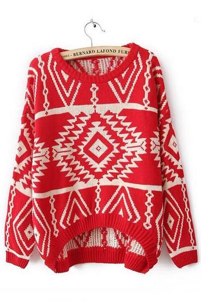 4a211be99b5a Dámsky sveter - červený