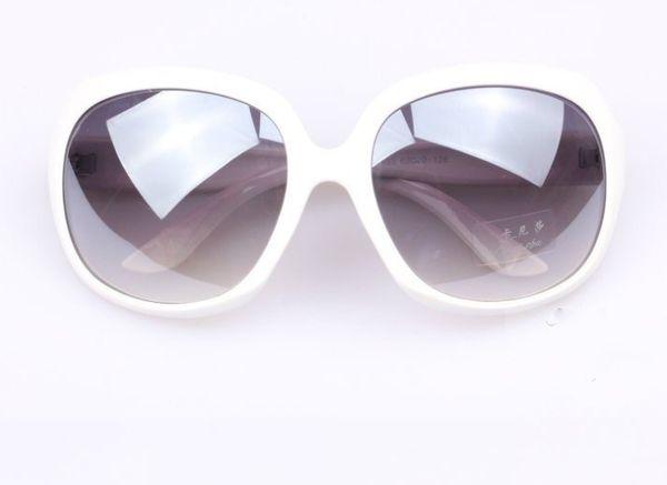 fb483ef56 Slnečné okuliare OVERSIZE - biele