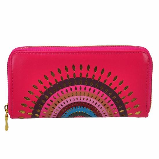 9efc9c6486 Štýlová peňaženka Aztec ružová