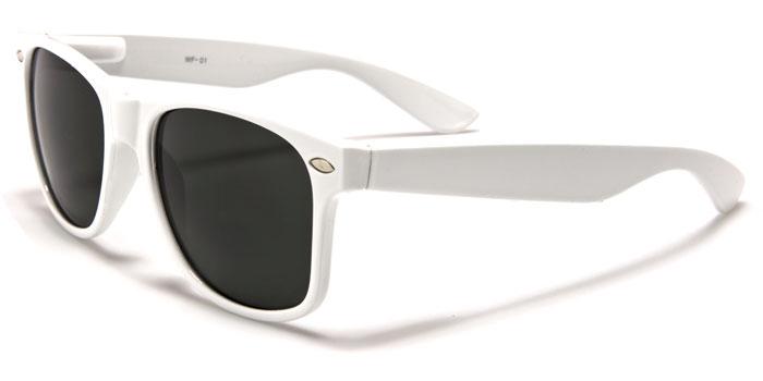 9095ea6ed Slnečné okuliare WAYFARER - tmavé sklá biely rám