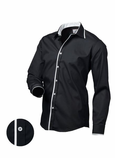 94075dcc3a99 Pánska košeľa čierna
