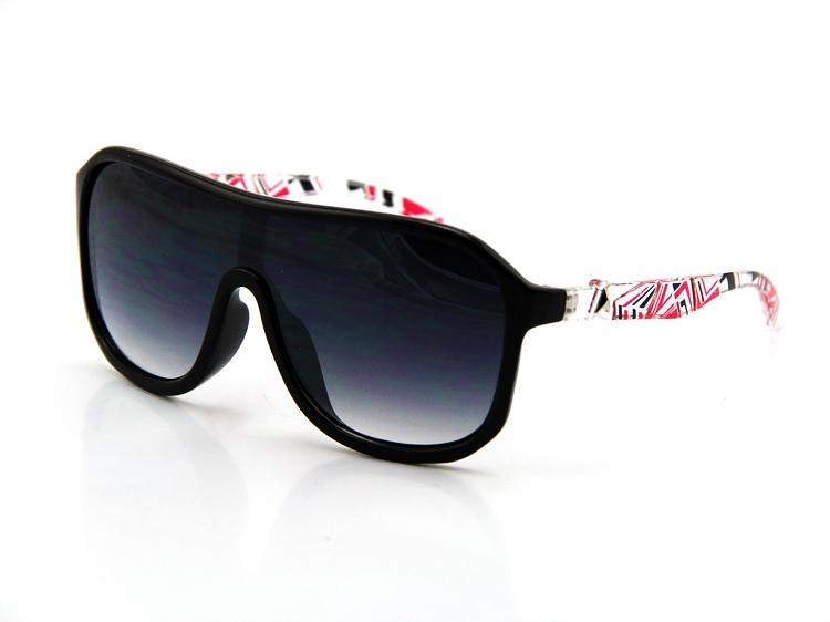 Trendy slnečné okuliare - čierne Transparent ec72b68e16a