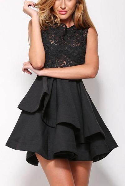 Dámske šaty - čierne  653d0089530