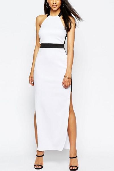 014821e07dbf Dlhé dámske šaty - biele