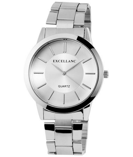 Pánske hodinky Excellanc -strieborné 7c7328ea27