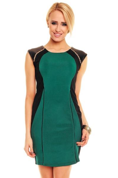 Dámske šaty Evelin zelené empty 62078cb1108