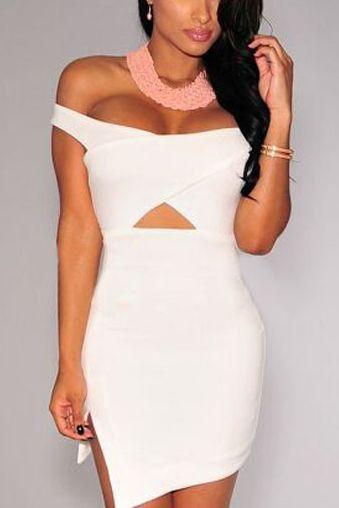 8439bf725e5a Dámske šaty - biele