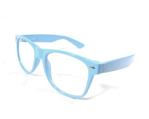 1ff9b2b23 Okuliare WAYFARER- modré priesvitné sklá