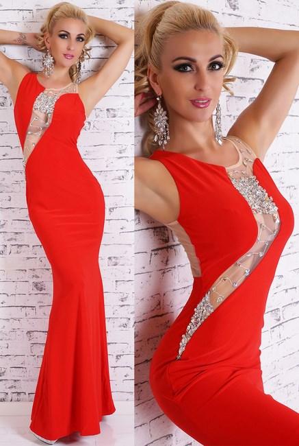 cd922b0cf8da Dámske spoločenské šaty červené