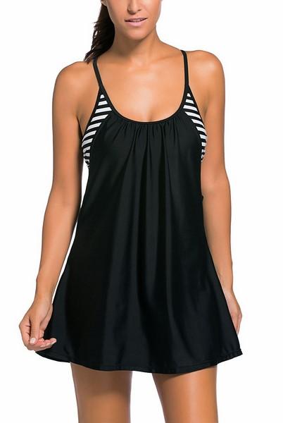 4171f2f6bb12 Plážové šaty - čierne