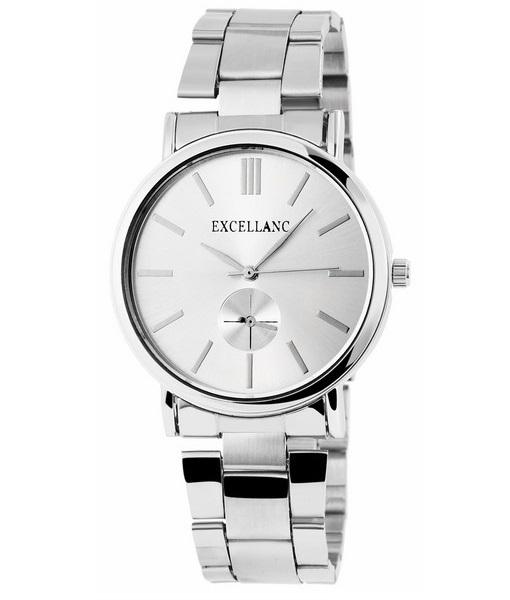 Pánske kovové hodinky Excellanc strieborné 5dda617e20