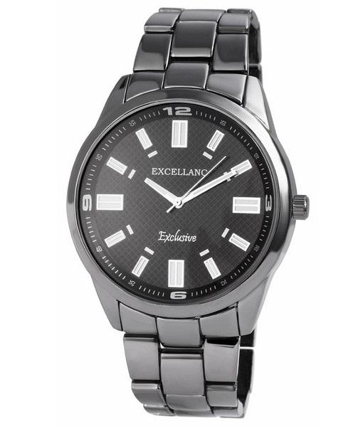 Pánske kovové hodinky Excellanc čierne dcae84c772