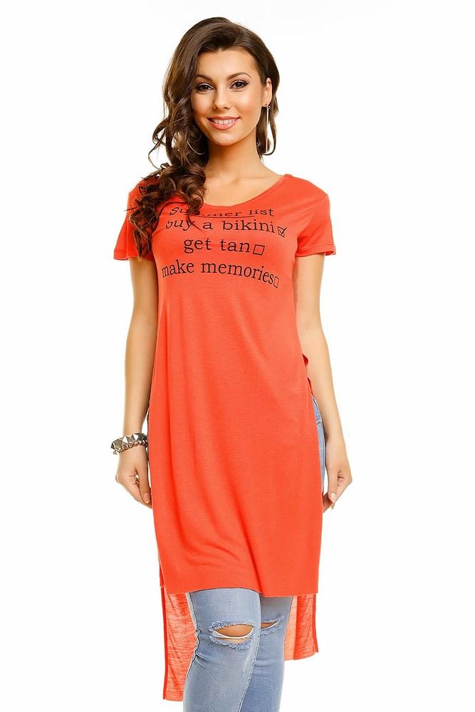 86da377c4037 Dámske predĺžené tričko Soul
