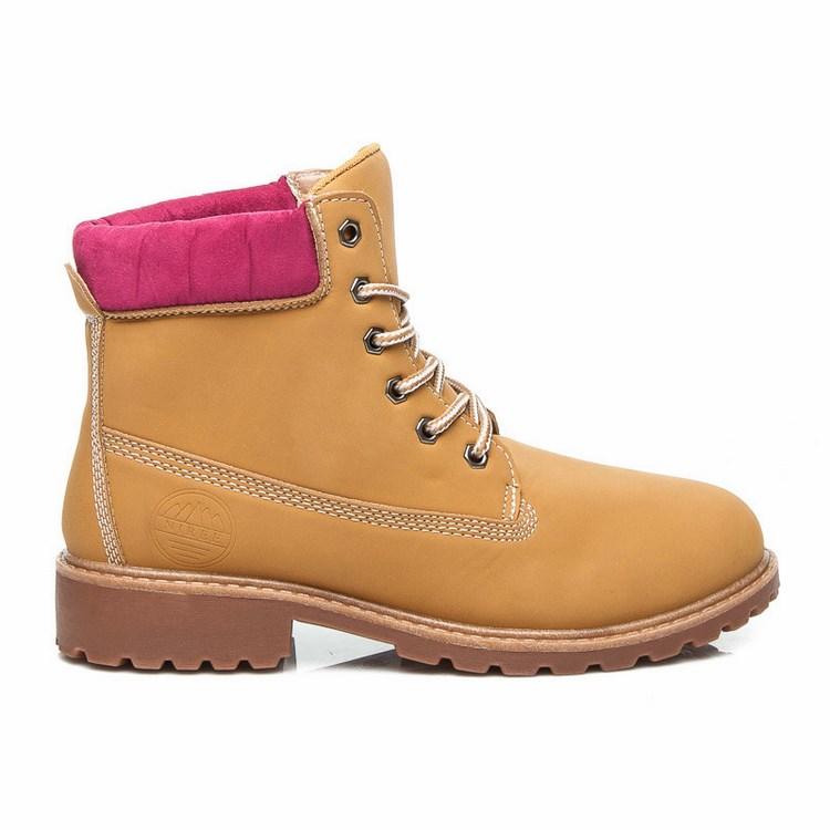 4fe826d858 Dámske workery hnedé ružové