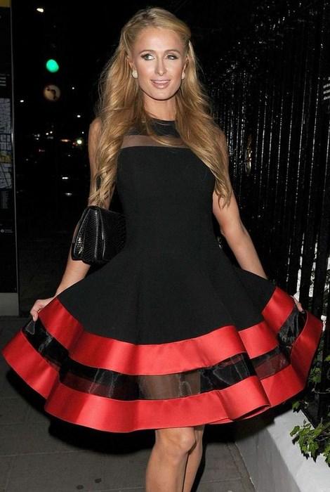 Dámske čierne šaty Visible Red 3c94528c10