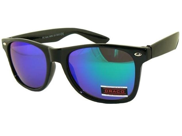 9ac99cad4 Slnečné okuliare WAYFARER - čierny rám modré sklá