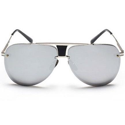 Slnečné okuliare Marquez strieborný rám zrkadlové sklá empty d77e0f30d50