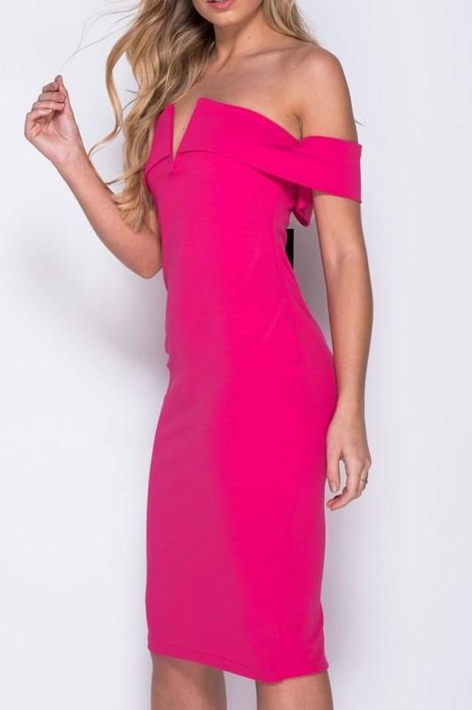 Dámske ružové šaty Ella 10068cc96f