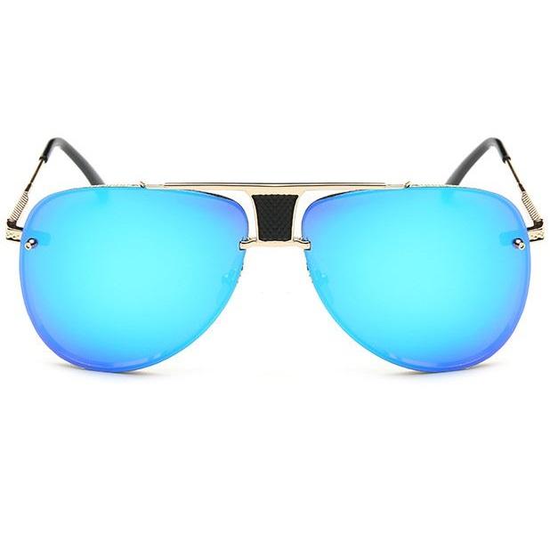Slnečné okuliare Marquez zlatý rám modré sklá f160ec17695