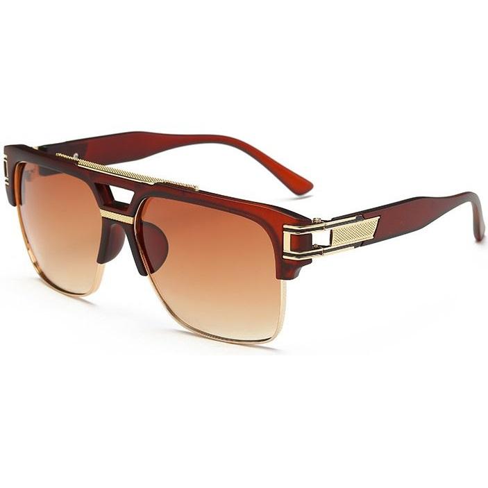 Slnečné okuliare Pablo Gold hnedé 4fc0566f88f
