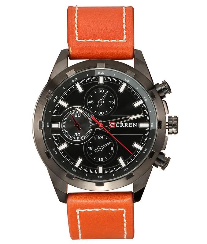 Pánske hodinky CURREN - hnedé 32b8b8c1fd