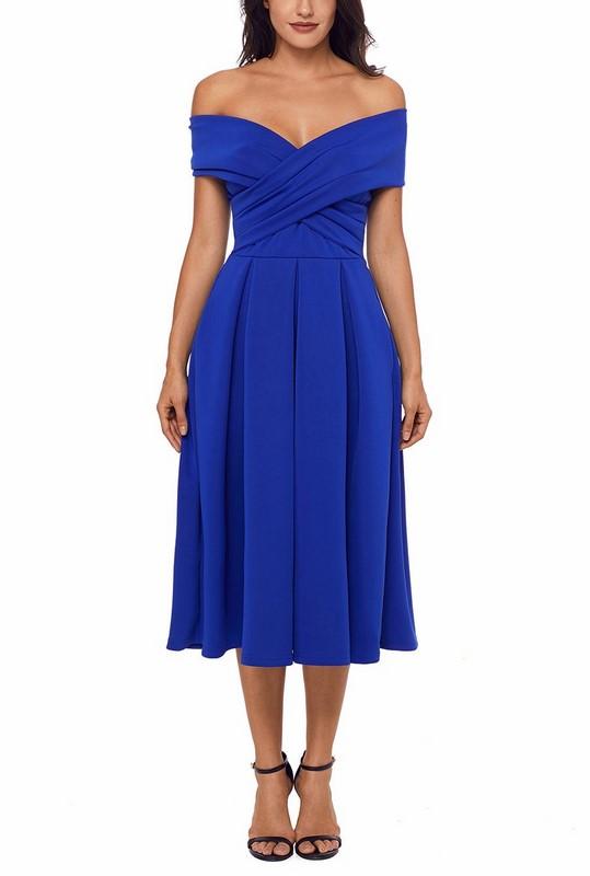 3f577ecf5563 Dámske večerné šaty Natalie - modré