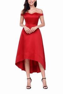35e9e5165f3a Dámske večerné šaty Simone - červené empty