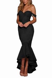 Čierne večerné dámske šaty empty 546b488c93f
