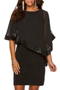 e430a890fe22 Pútavé dámske šaty - čierne empty