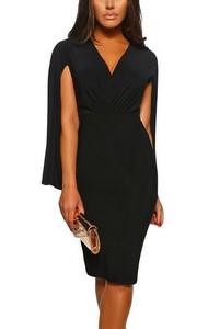 9170b99bbd86 Čierne šarmantné dámske šaty empty