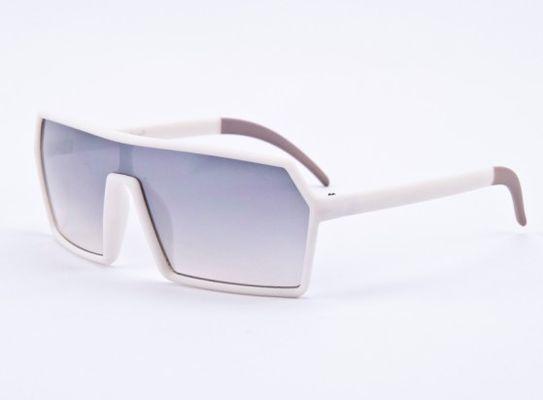 89e6e64d4 Slnečné okuliare FUTURE - hranate biele