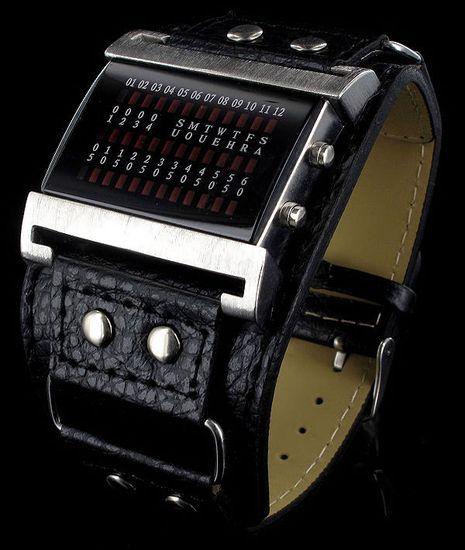 fd41af86a32d Pánske LED hodinky Jay Baxter Matrix Blue