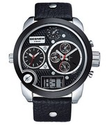 d4f176cd7bf Pánske hodinky TripleZone Digital - čierne empty