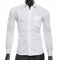 ca239e3f18e9 Pánska košeľa biela empty