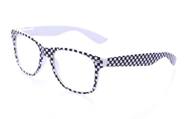 f0521c9a2 Okuliare WAYFARER- šachovnica biela priesvitné sklá